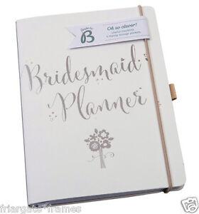 Busy B Luxury Bridesmaid Planner Wedding Journal Organiser Notebook Engagement