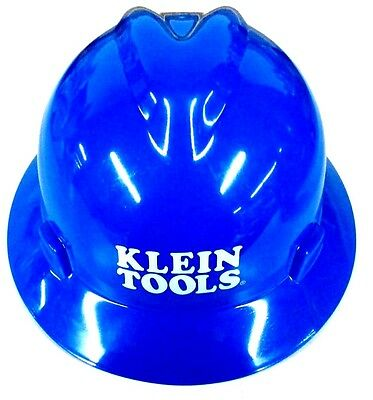 Construction Hard Hats With Logo (Klein Tools 60036 V-Gard Hard Hat with Klein Tools Standard Logo,)