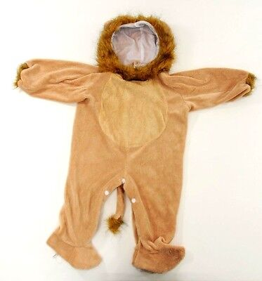 Lion Halloween Costume Baby Toddler 12-24 months Soo Cute! Warm & Furry  ()