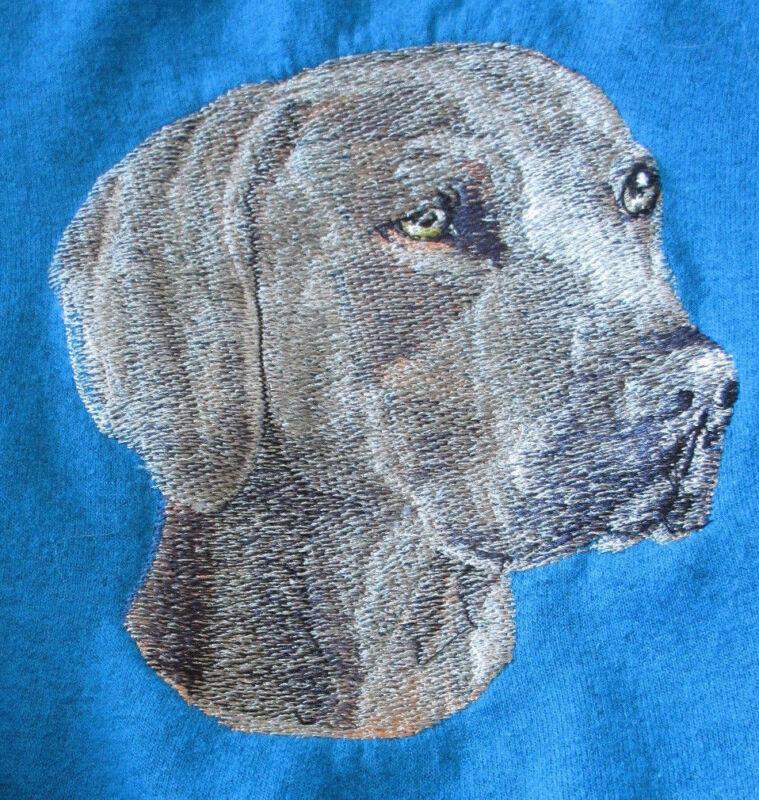 Embroidered Fleece Jacket - Weimaraner BT2358  Sizes S - XXL