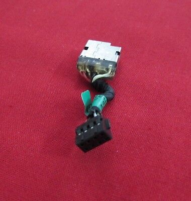 HP PAVILLION 15-P030NR DC POWER JACK w/ CABLE HARNESS 762507-001 730932-SD1