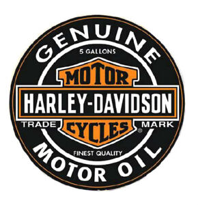 Harley-Davidson® 1000 Pieces H-D Oil Can Label Bar & Shield Puzzle (26.5