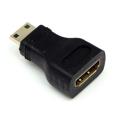 HDMI Female to Mini HDMI Type C Male Adapter Convertor in ( NOT USB Type-C )