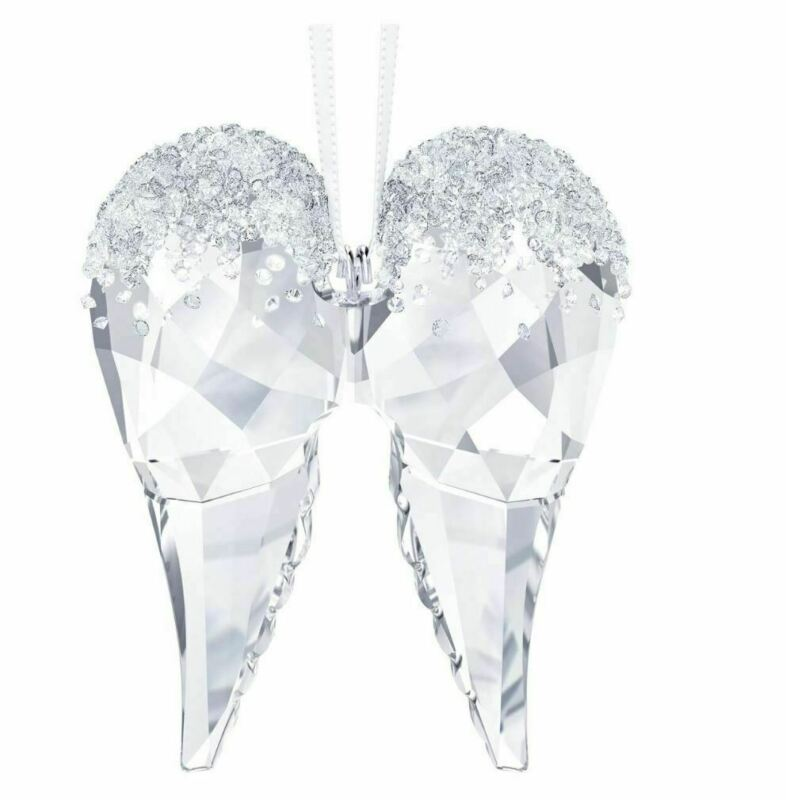 New in Box SWAROVSKI CHRISTMAS Angel Wings ORNAMENT 2018 CRYSTAL 5403312