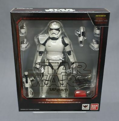 SH S.H. Figuarts First Order Stormtrooper (The Last Jedi) Special Set Bandai JP*