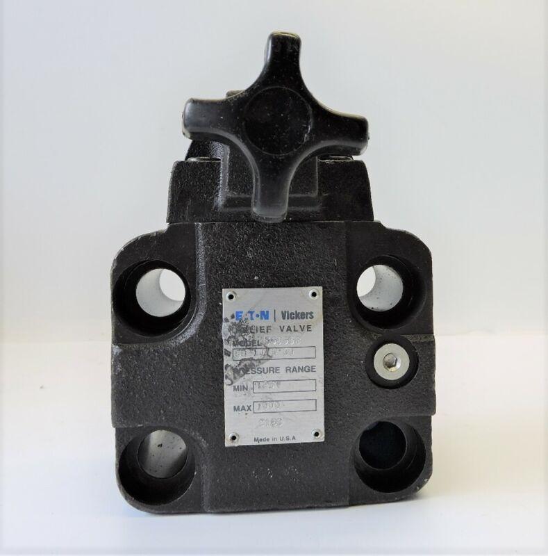 Vickers Eaton 590958 Hydraulic Pressure Relief Valve CG-10-B-30 - NEW