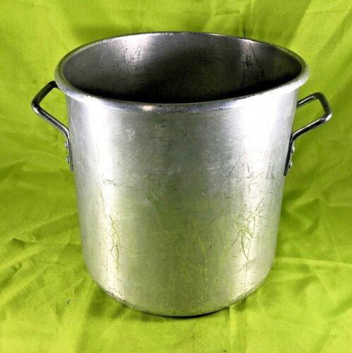 Commercial Stockpot Aluminum Dura-ware 32 Quart Stock Pot #634
