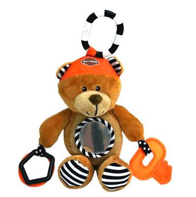 Teddy Rattle - Harley-Davidson Newborn Sensory 9