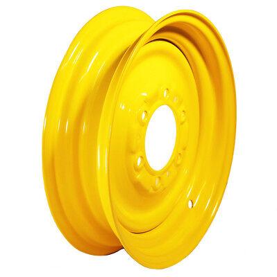 1 New John Deere Front Tractor Tire 4x16 6 Hole Wheel Rim 16x4 Jd1268r