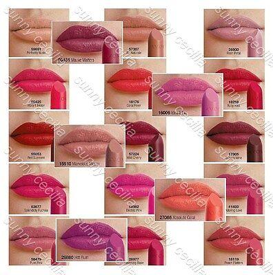 AVON ~ Perfectly Matte/ mark 3D/ True Colour/ Prism Lipstick Samples ~ DIFFERENT