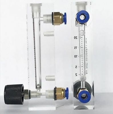 Air Flow Meter Nitrogen Gas Flowmeter With Control Valve