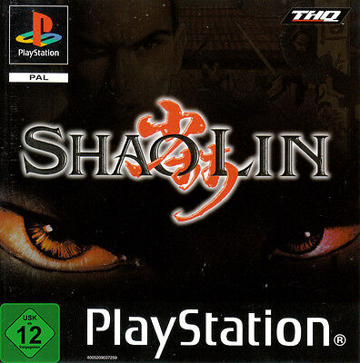--  SHAOLIN  --   Top-Game  - PS1 / PS2 / PS3 (Ps3 Kampfspiele)