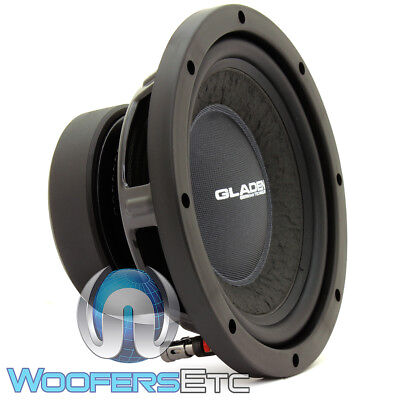 """GLADEN RS08 8"""" SUB 175W RMS 4-OHM RS LINE CAR AUDIO SUBWOOFER BASS SPEAKER NEW for sale  Los Angeles"""