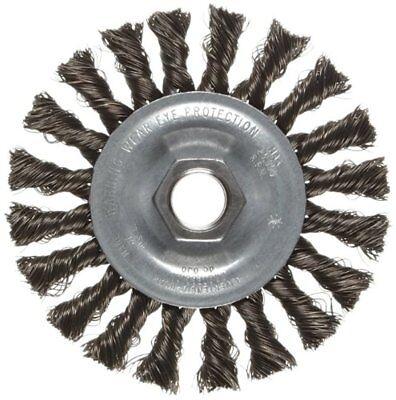 Weiler Vortec Pro Wide Face Wire Wheel Brush 4