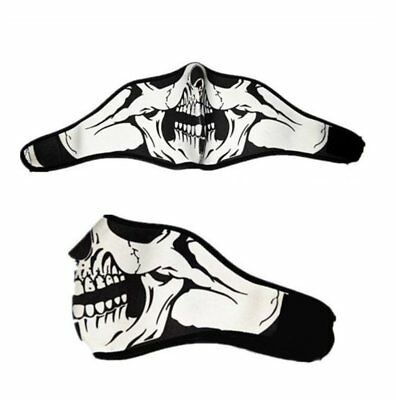 New Skeleton Ghost Skull Face Mask Biker Costume Halloween Cosplay Game US Stock](Biker Halloween Costume)