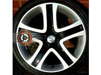 """17"""" Enkei Alloys 5x114, refurbished, excellent condition, great tyres."""