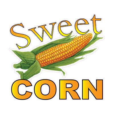 Food Truck Decals Sweet Corn Concession Restaurant Die-cut Vinyl W88