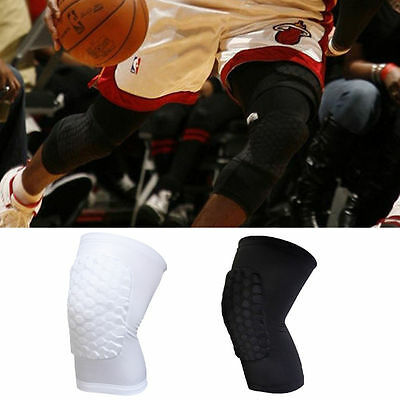 Kids Adult Pad Basketball Leg Knee Long Sleeve Protector Gear Crashproof TT