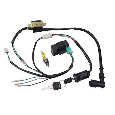 Ignition CDI Spark plug Wiring Harness 50cc 70cc 90cc 110cc 125cc ATV Quad Bike