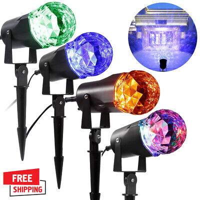 Christmas Lights Projector LED Laser Spotlight Waterproof Ou