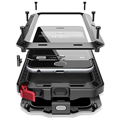 Wasserdichte Outdoor Handy Hülle für iPhone 6/6S mit Aluminium Stoßfestes