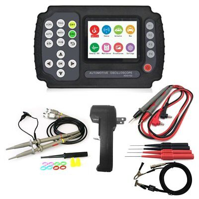 Ado102 Automotive Handheld Digital Storage Oscilloscope Multimete Dual Channels