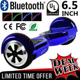 "Hoverboard UL Listed 6.5"" Self Balance Electric Scooter Bluetooth + LED Light BP"