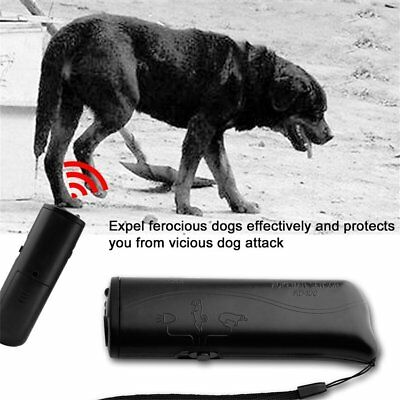LED Ultrasonic Anti Bark Barking Dog Training Repeller Control Trainer device