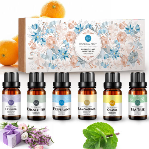 RA 100% Pure & Natural Aromatherapy Essential Oils Gift Set