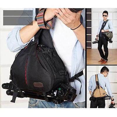 DSLR SLR Digital Sling Camera Case Shoulder Bag Backpack for Canon Nikon Sony OB