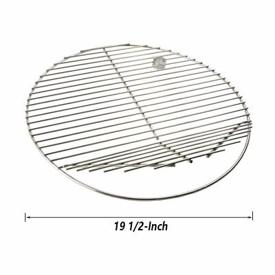 Onlyfire 19 1/2-inch Barbecue Stainless Steel Round Cooking Grate -
