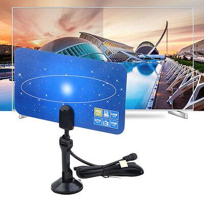 Digital Indoor VHF UHF Ultra Thin Flat TV Antenna for HDTV 1080p DTV HD Ready ax 1080p Hd Ready Tv