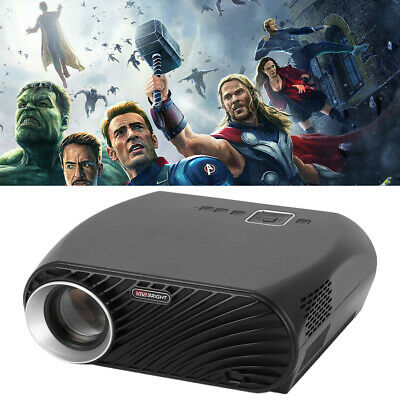 Video Media Player GP100Plus Digital Home Projector Universal LED Beamer US WF