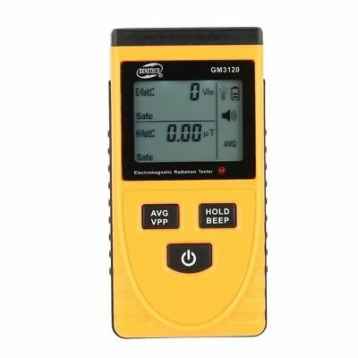 Digital Gm3120 Electromagnetic Radiation Detector Emf Meter Dosimeter Tool Us