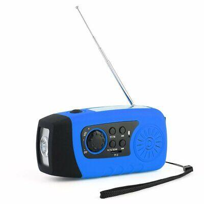 Outdoor Solar Radio SOS LED PowerBank Kurbelradio Taschenlampe Solarradio MP3