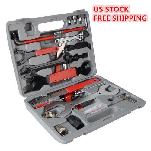 44PCS Bicycle Cycling Maintenance Repair Hand Wrench Bike Tool Kit Set