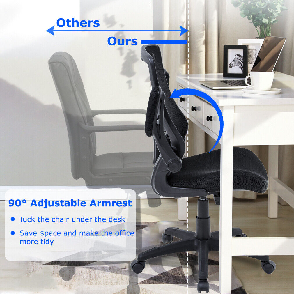 Home Office Chair Desk Chair Mesh Computer Chair with Lumbar Support Chairs