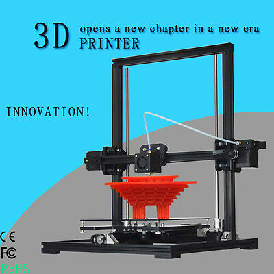 220*220*300mm Size Aluminum Prusa I3 X3 3D Printer DIY KIT Bundle+1ROLL Filament