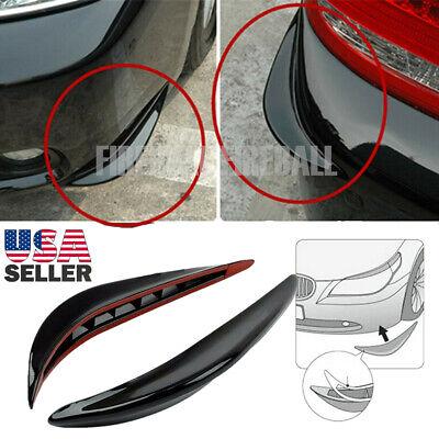 2X Auto Car Accessories Bumper Corner Guard Cover Anti Scratch Protector Sticker