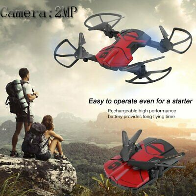 BEST DRONE WITH CAMERA - FOLDABLE  2.4G 6-AXIS FPV RC Quadcopter WIFI HD DE