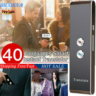 Smart Voice Translator Portable Two-Way Real Time Multi-Language Translation USA