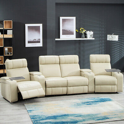 Home Theater Seating Reclining Power Sofa Theater Recliner Sectional Sofa