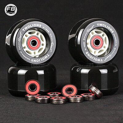 8Pcs 608RS Ceramic Skate Bearings 22x8x7mm