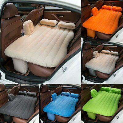 Auto Luftmatratze für Camping Luftbett PVC Matratze mit Pumpe aufblasbar neu