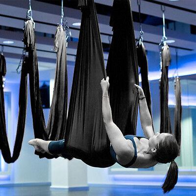 Large Bearing Yoga Swing Sling Hammock Trapeze For Joyful Yoga Inversion Tool B#