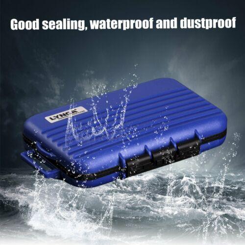 memory card storage carry waterproof shockproof case