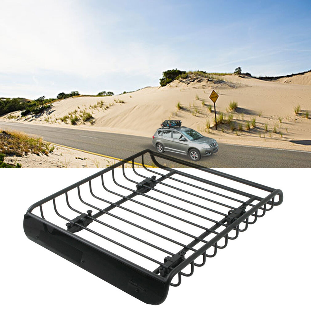 universal heavy duty steel aerodynamic car roof rack bar. Black Bedroom Furniture Sets. Home Design Ideas
