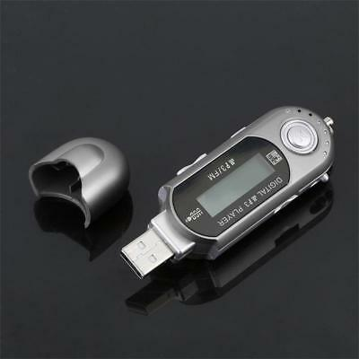 Portable USB Digital MP3 Music Player LCD Screen Support 16GB TF Card FM Radio