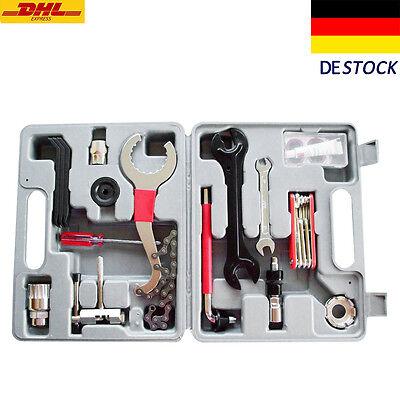 Fahrrad Werkzeugkoffer 29tlg Werkzeugtasche Werkzeug Bike Tool Box Set Reparatur