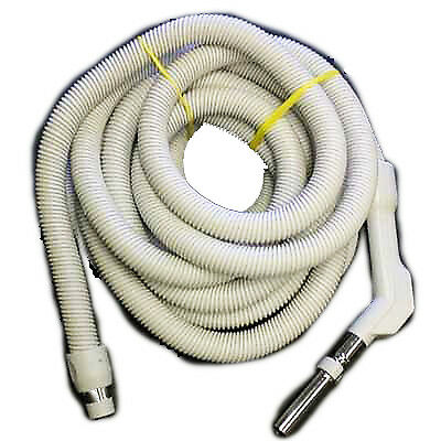 - Central Vacuum Hose 35ft Low Voltage Crushproof Hose 1 3/8in